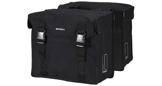 Basil Kavan Doppeltasche schwarz